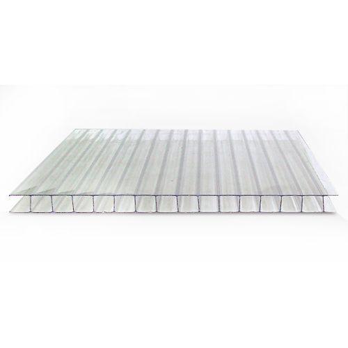 Сотовый поликарбонат SUNNEX (6м,4мм,прозрачный)