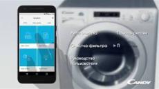 Candy Smart Touch заботится о вас и вашей стиральной машине